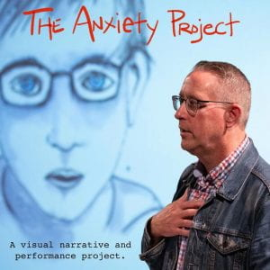 Penn State Laureate - Tjhe anxiety Project Promotional Poster